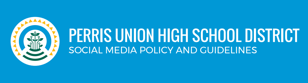 PUHSD Social Media Policy & Guidelines